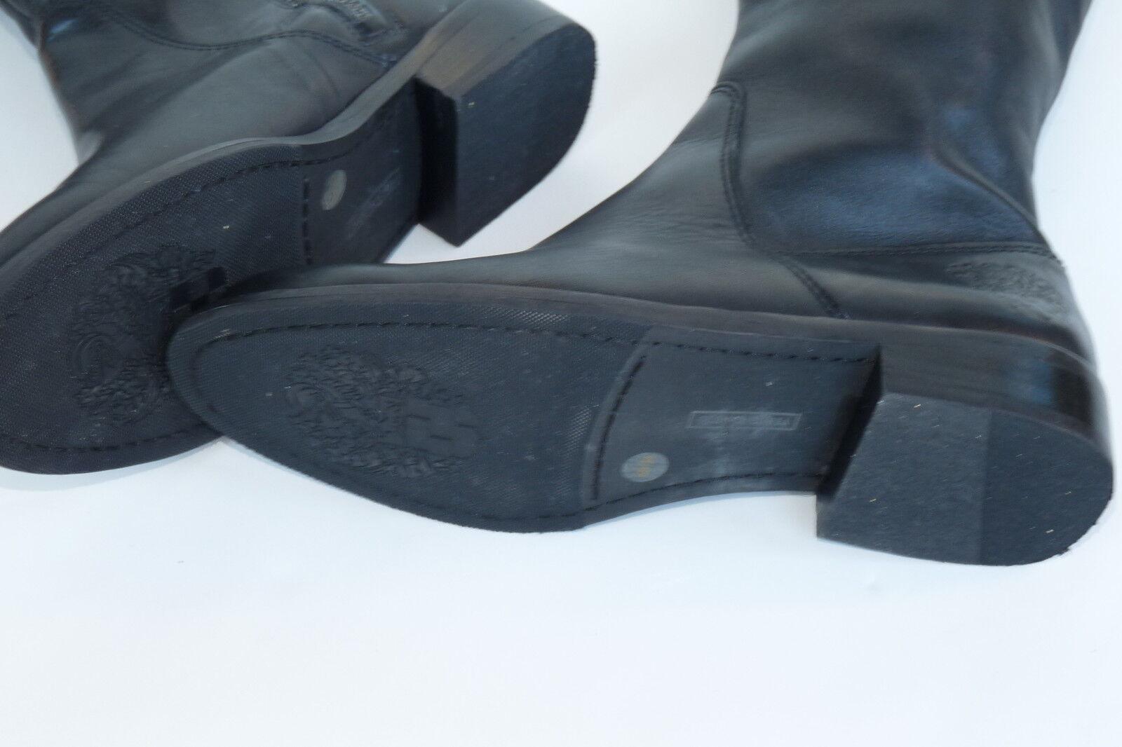 Vince Camuto Camuto Vince Keaton Cuero Negro botas Hasta La Rodilla Talla 6 1111fe