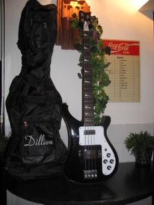 Dillion-039-039-Bass-Guitar-model-DRK4-0II-black-AWESOME-LEGENDARY-MODEL