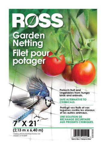 Black Easy Gardener Ross 15544 21-Foot x 7-Foot Multi-Use Garden Netting