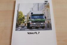 130800) Volvo FL 7 Prospekt 06/1988