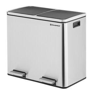 recycling m lleimer abfalleimer 2 f chern papierkorb. Black Bedroom Furniture Sets. Home Design Ideas