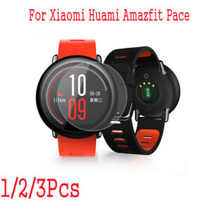 sitio de buena reputación 71a07 00f25 Detalles de Para Xiaomi Huami Amazfit Pace Reloj Inteligente Protector de  Pantalla de Vidrio Templado Film @- ver título original