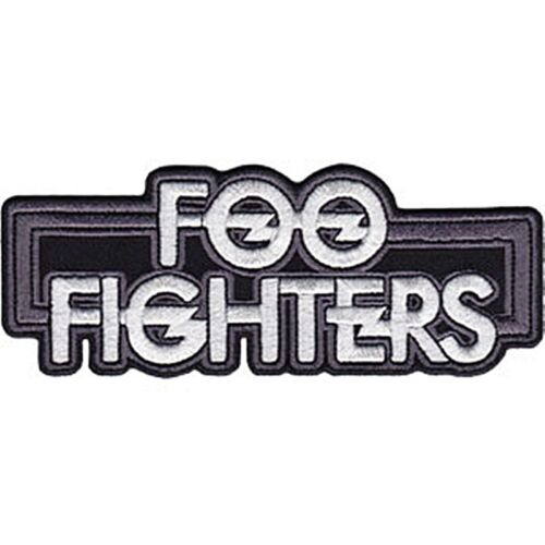 cv sew-on cloth patch  120mm x 50mm Foo Fighters iron-on