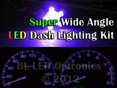 Purple T10 194 168 6 Led Dash Kit For
