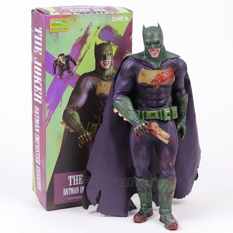 Crazy Toys Suicide Squad The Joker Batman Imposter Version 1 6 Scale 30cm