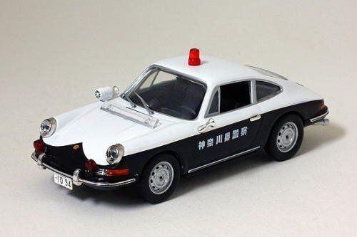 Hikosebun 1 43 Porsche 912 voiture de patrouille 1968 Kanagawa Prefectural POLICE TRAFIC R