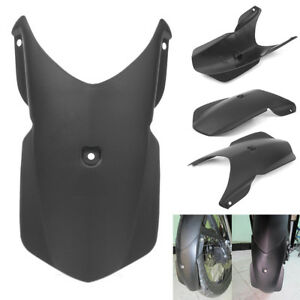 Motorcycle Black Front Mudguard Extension Fender Extender for BMW F800GS 2008-2012 F800GS ADV 2013-2017 F650GS 2008-2012