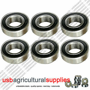 6-x-NEW-DECK-BEARINGS-WESTWOOD-TRIPLE-BLADE-MOWERS-1180-FREE-NEXT-DAY-DELIV