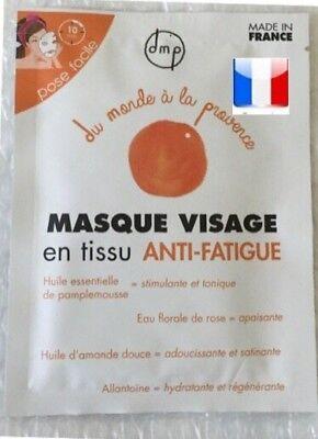 masque visage anti fatigue