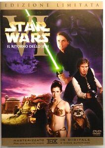 Dvd-Star-Wars-Ep-6-VI-Il-Ritorno-dello-Jedi-ed-limitata-2-dischi-Usato