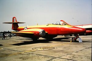 3-632-Gloster-Meteor-F8-Royal-Air-Force-WH453-Kodachrome-SLIDE