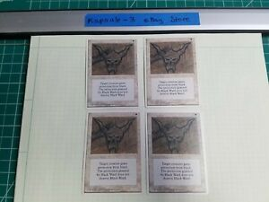 4x-Black-Ward-4th-Edition-MTG-Magic-The-Gathering-Cards