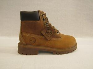 Color Terra Boot In Scarpa Bimbo Dettagli Invecchiata Su Timberland Pelle 80704 RjLS5q3Ac4