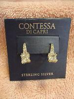 Contessa Di Capri Sterling Silver Earrings
