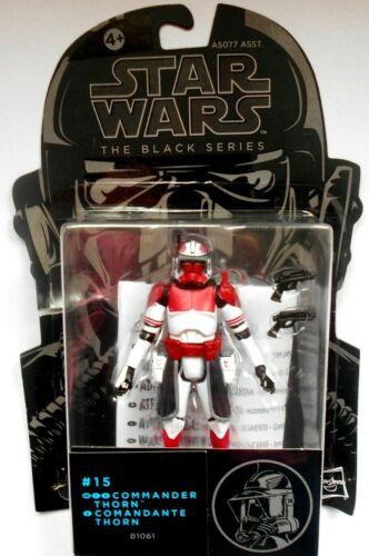 Star Wars Black Series #15 COMMANDER THORN B1061 Hasbro