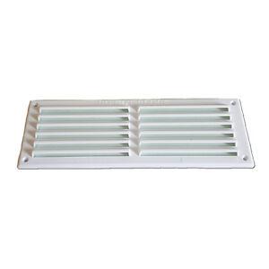 9-034-x-6-034-WHITE-PLASTIC-LOUVRE-VENT-Air-Ventilator-Grille-Cover-Home-Caravan