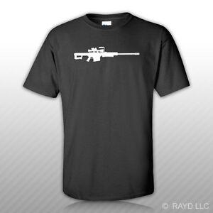 Barrett-M107-T-Shirt-Tee-Shirt-Gildan-S-M-L-XL-2XL-3XL-Cotton-sniper-rifle-50