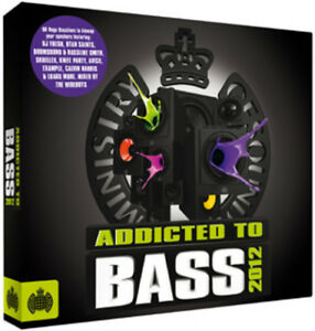 Various-Artists-Addicted-to-Bass-2012-CD-3-discs-2012-FREE-Shipping-Save-s