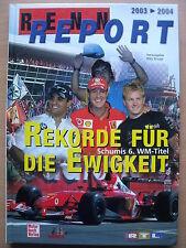 Willy Knupp REKORDE FÜR DIE EWIGKEIT Schumis 6. WM-Titel (Formel 1 M.Schumacher)