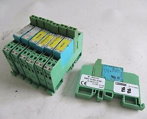 phoenix contact siemens relay emg10 rel ksr g24 21 lc 2942153 ebay rh ebay com Circuit Board Test Meters Circuit Board DIN Rail Adapter