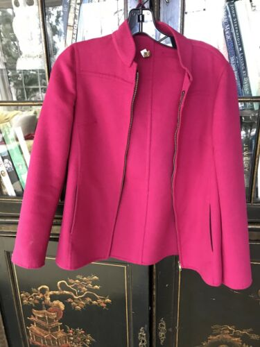 Agnona Hot Pink Jacket