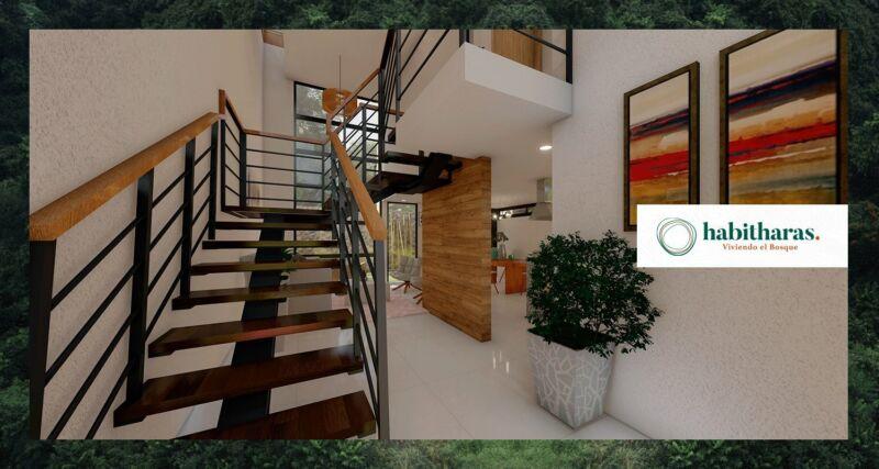 Casa en Venta en Habitharas  en Puebla, 2 Recámaras