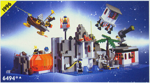 Lego 6494 Time Cruisers: Mystic Mystic Mystic Mountain Time Lab 2ee7a0