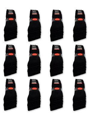 10 bis 120 Paar Sportsocken Tennissocken Arbeitssocken Herrensocken Damensocken