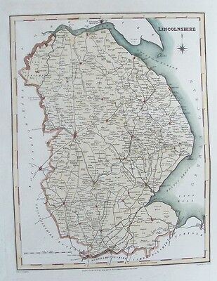 KENT antique county map by CREIGHTON//WALKER Electoral 1835 old