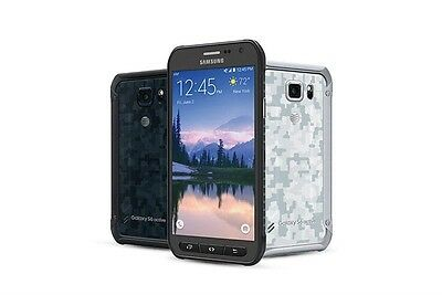 Samsung Galaxy S6 Active G890A 32GB 64GB AT&T Unlocked Smart Gray White Blue