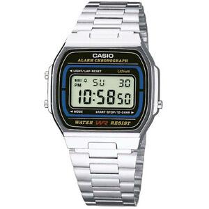 Reloj-Casio-Retro-Unisex-A164WA-1VES-Envio-24h-Powerseller