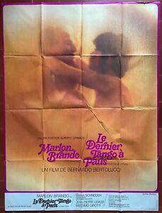 Plakat Le Letzte Tango A Paris Bernardo Bertolucci Marlon Brando 120x160cm