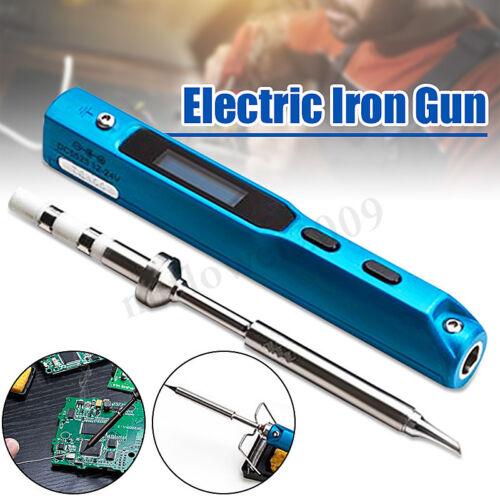 Portable TS100 Digital Electric Welding Pen Programable Interface Soldering Iron