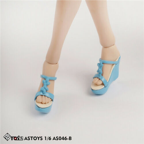 "ASTOYS 1//6 AS046 Female Sandals Slippers High-heeled Shoes For 12/"" Action Figure"