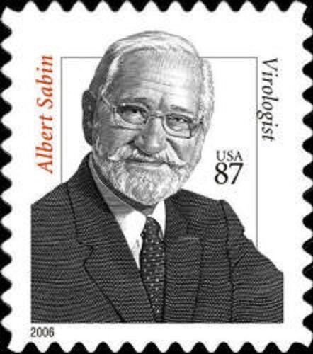 2006 87c Albert Sabin, Virologist Scott 3435 Mint F/VF