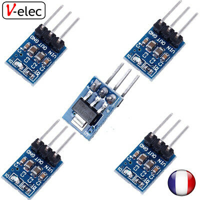 Ams1117 Micro 3,3 V 800 Ma DC//DC Step Down LDO Module Régulateur de tension pour Arduino