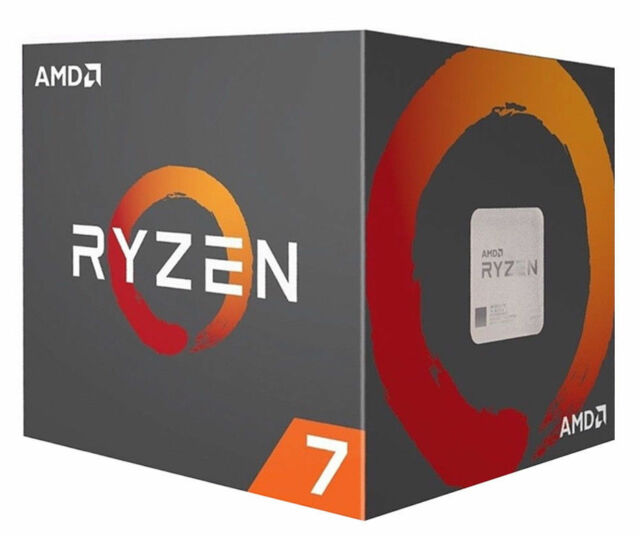AMD YD180XBCAEWOF Ryzen 7 1800X 8-Core 3.6 GHz Socket AM4 95W Processor