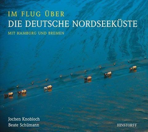 Im Flug über die deutsche Nordseeküste, mit Hamburg und Bremen **TOP**