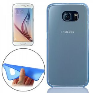 TAPA-TRASERA-AZUL-FUNDA-0-3mm-Delgado-Brillante-para-Samsung-Galaxy-S6-G920