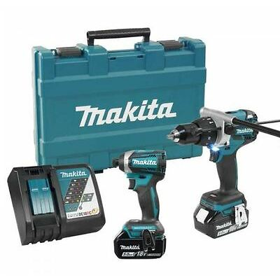 Makita DLX2176T 2 Piece Cordless Combo Kit (2-Piece)