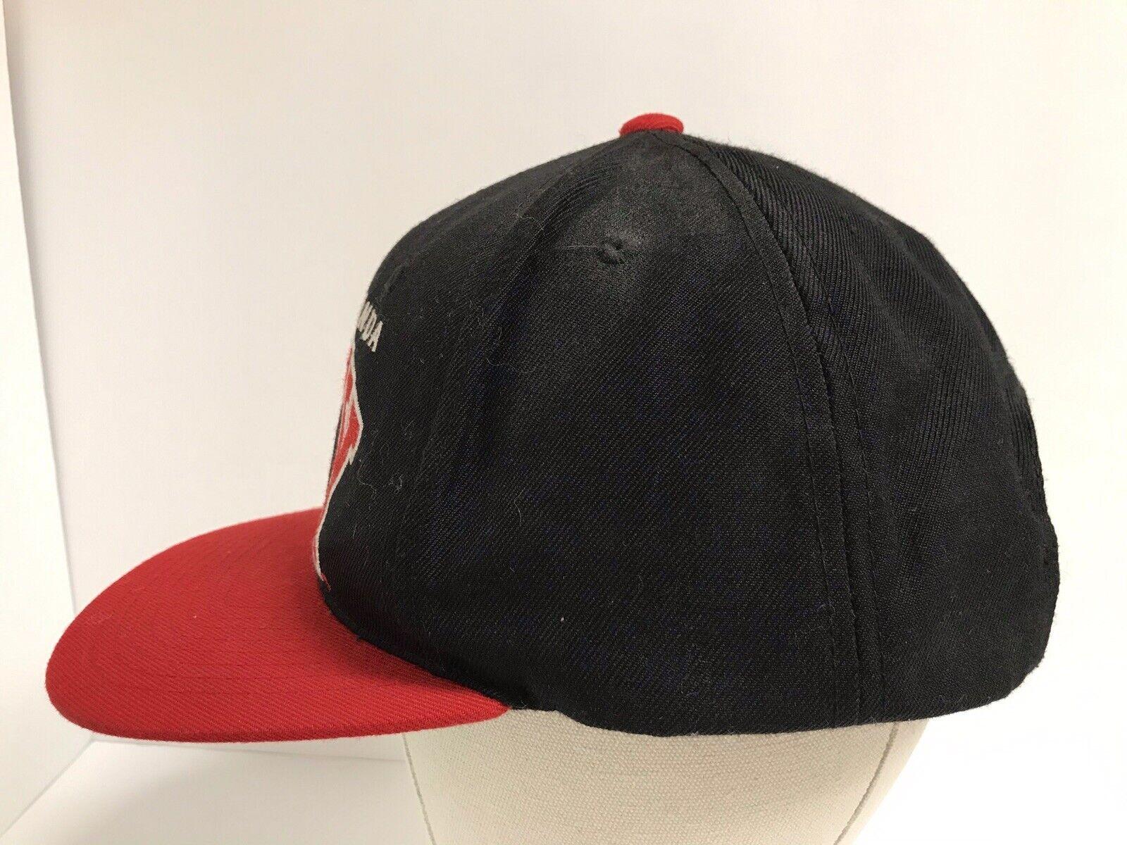 Propaganda Obey Red Black Snapback Hat - image 6