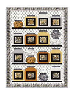 BEE INSPIRED #2 Quilt Kit - Moda Fabric by Deb Strain + Quilt Pattern