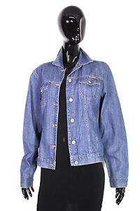 T3-4-s-Oliver-Damen-Jeans-Jacke-Denim-Jacket-Gr-38-blau-Used-Look-duenn-weich