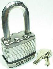 KEYED ALIKE Long Carbide Shackle Magnum Lot of 8 Lock Set By Master M1KALF