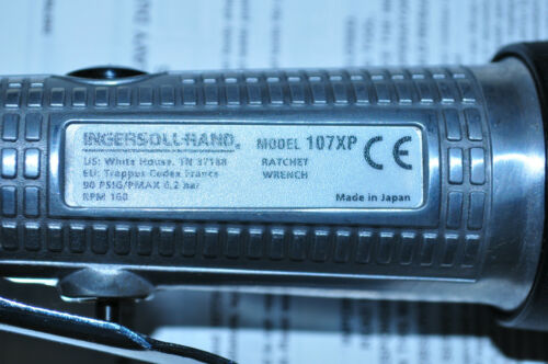 INGERSOLL RAND IR 107XP 3//8 Inch Heavy Duty Air Ratchet Wrench Made in Japan