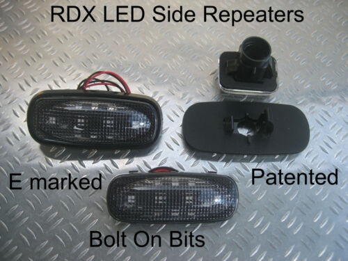 RDX LED DARK Side Repeaters Rover 100//Metro//200//25//RV8//800//Montego//Maestro
