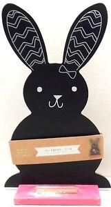 Chalkboard-Easter-Bunny-Rabbit-Shaped-Seasonal-Spring-Holiday-Home-Decor