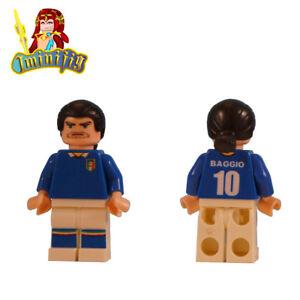 Custom Print LEGO minifigure FIFA World Cup Neymar in National Jersey