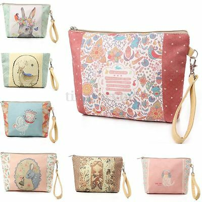 New Travel Cosmetic Makeup Bag Case Toiletry Holder Organizer Pouch Storage Zip