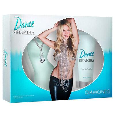DANCE SHAKIRA DIAMONDS Colonia Perfume 80 ml + Body Lotion 75 ml | eBay